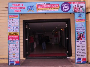 Goa-Educare-Show-venue-entrance-gate